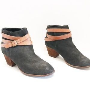 Dolce Vita black suede boots size 9.5